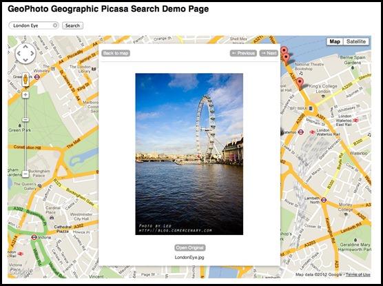 Google Maps Photo Search
