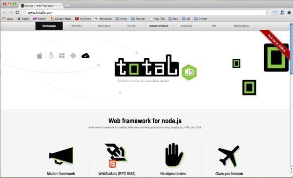 Node.js web framework - totaljs