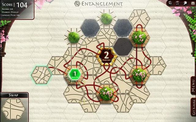 Entanglement Web App(六边拼图游戏)