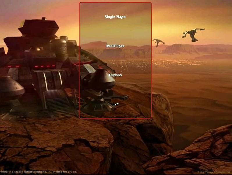用Java开发的《星际争霸》游戏
