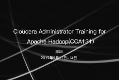 Cloudera Developer之Spark 及 Hadoop 开发员培训(CCA-175)
