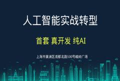 上海《AI人工智能实战转型课程预听大会》