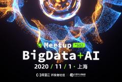 BIGDATA+AI Meetup 2020第二季·上海站开启报名!