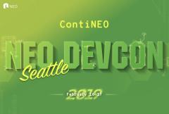 NEO DevCon 2019 NEO技术开发者大会