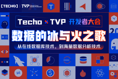 Techo TVP 开发者大会——数据的冰与火之歌