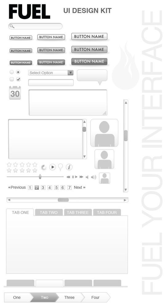 19个免费的UI界面设计工具及资源 - 第4张  | 第五维