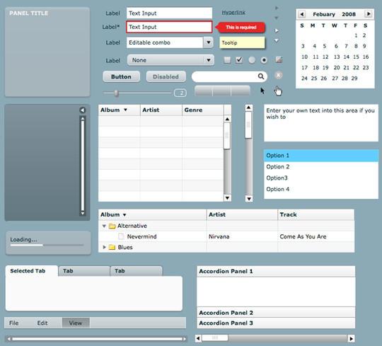 19个免费的UI界面设计工具及资源 - 第13张  | 第五维