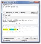 Regular Expressions Tester