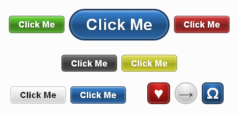Fancy CSS3 Buttons