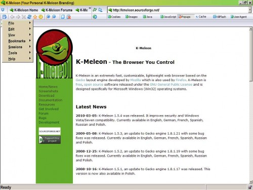 k-meleon-web-browser