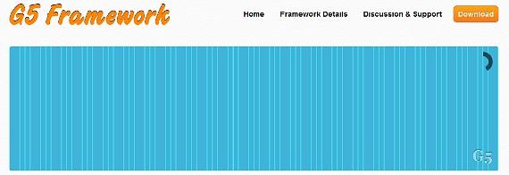 G5 Framework – HTML5 Front End Development Framework