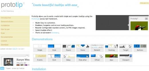 25 个优雅的 jQuery Tooltip 插件