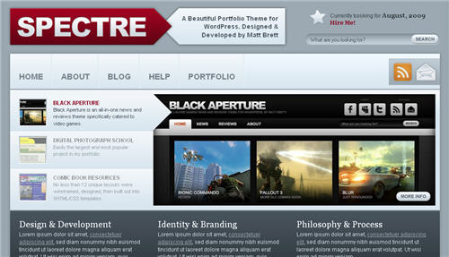 Free WordPress 3x Theme