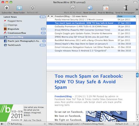 NetNewsWire-RSS Reader for Mac