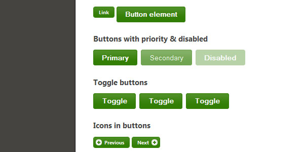 Styling Buttons and Toolbars with the jQuery UI CSS Framework