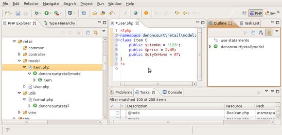 展示 PDT 如何使用语法突出显示的图片