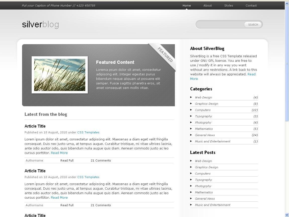 silver-blog