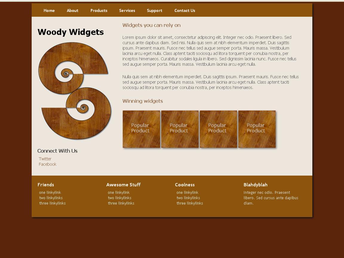 woody-widgets