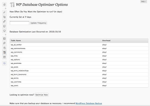 databaseoptimizer