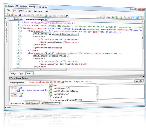 Liquid XML Studio 的预览的屏幕截图
