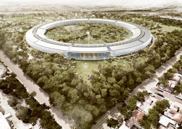 """苹果""""宇宙飞船""""新总部更多细节曝光"""