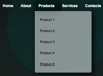 How To Create A Simple Drop Down Menu With CSS3