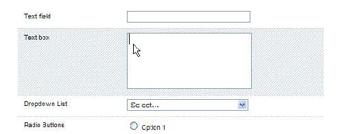 Highlight jQuery form plugin