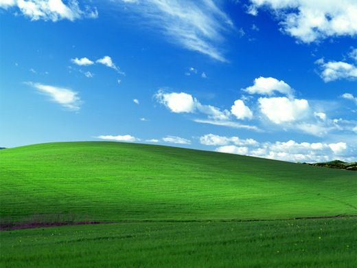 Windows系统草原墙纸来自加州:如今面目全非