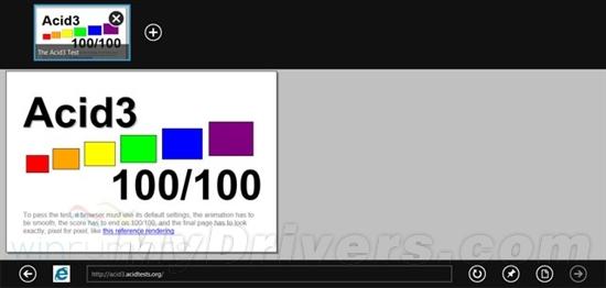 微软IE9和IE10满分通过Acid3测试