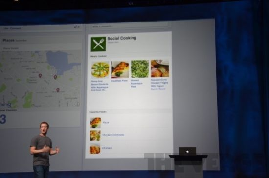 扎克伯格用一款烹饪应用发布时间线内容