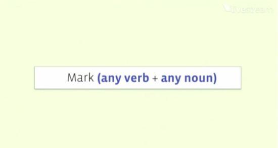 """只需要""""动词+名词"""""""