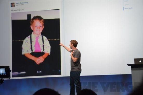 扎克伯格在时间线中添加了一张婴儿照