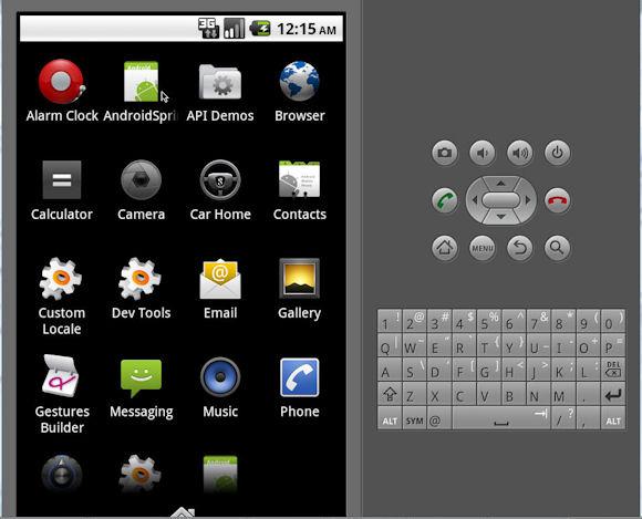Spring Android 客户端应用程序的屏幕截图