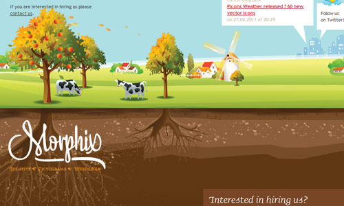 Footer 10 in 25 Creative Examples of Footer in Web Design