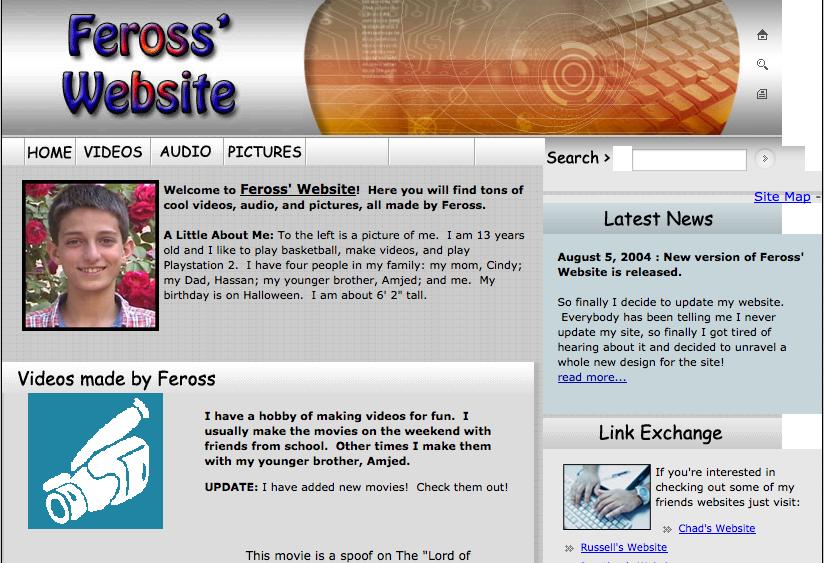 修改后的第一个网站