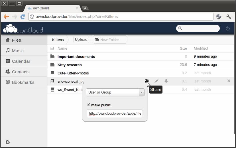 基于 PHP 的自建网盘:ownCloud 2.6.3