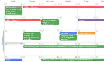 Monket Calendar
