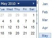 jquery calendar thumb