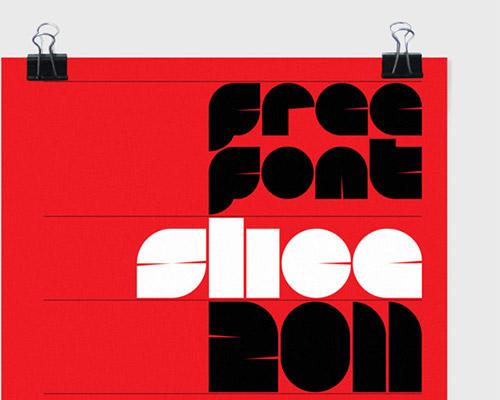 Slice font