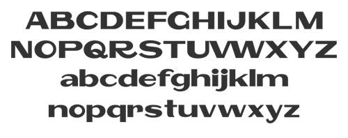 Polsku font