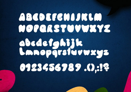 Knubbel font