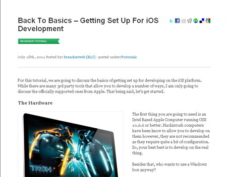 Getting Set Up For iOS Development