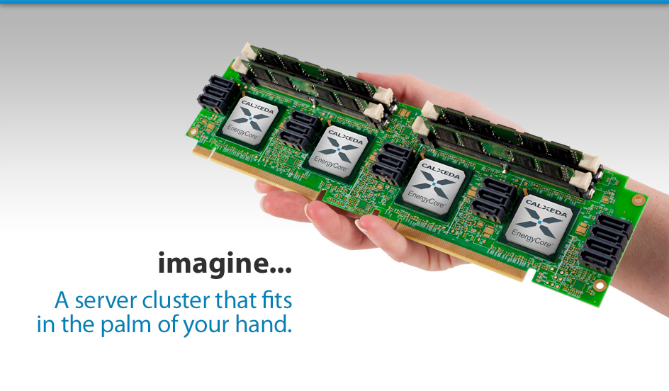 a server cluster that fits in the palm of your hand
