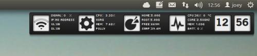 Reloj Conky in Ubuntu 11.10