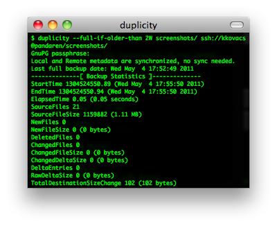 duplicity screenshot