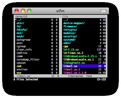 vifm screenshot