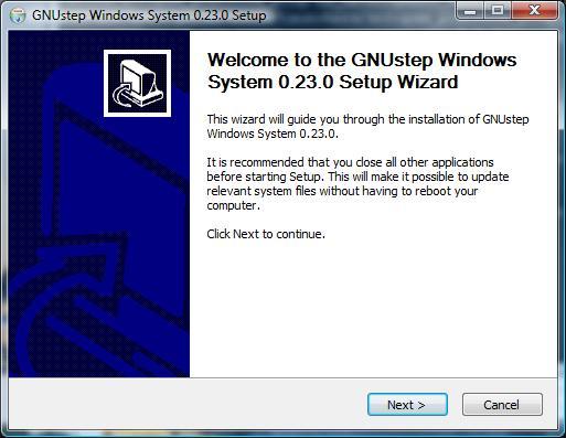 Installing Objective-C on Windows