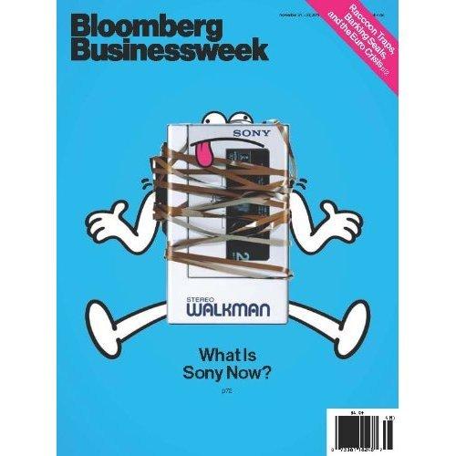 图为最新一期《商业周刊》封面文章