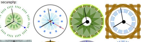 jQuery Cool Clock