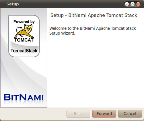 BitNami Tomcat Stack